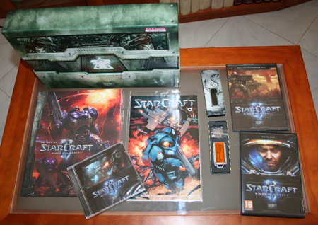 Imagem do StarCraft 2 Collector's Edition