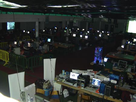 Lan Party Moita 2007